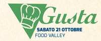 sabato 21 ottobre  FOOD VALLEY